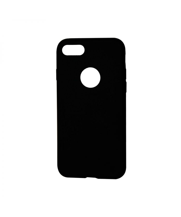 Husa iPhone 7 Procell Silicon Silky Negru