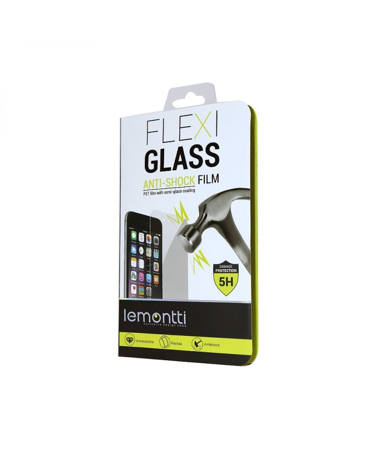 "Folie Alcatel Pop 4 (5"") Lemontti Flexi-Glass (1 fata)"
