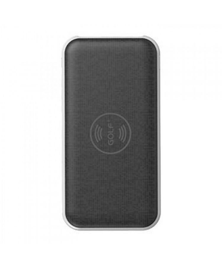 POWERBANK GOLF WIRELESS W2 8000 NEGRU