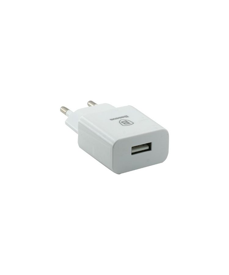 ADAPTOR PRIZA BASEUS SINGLE 1USB/2A