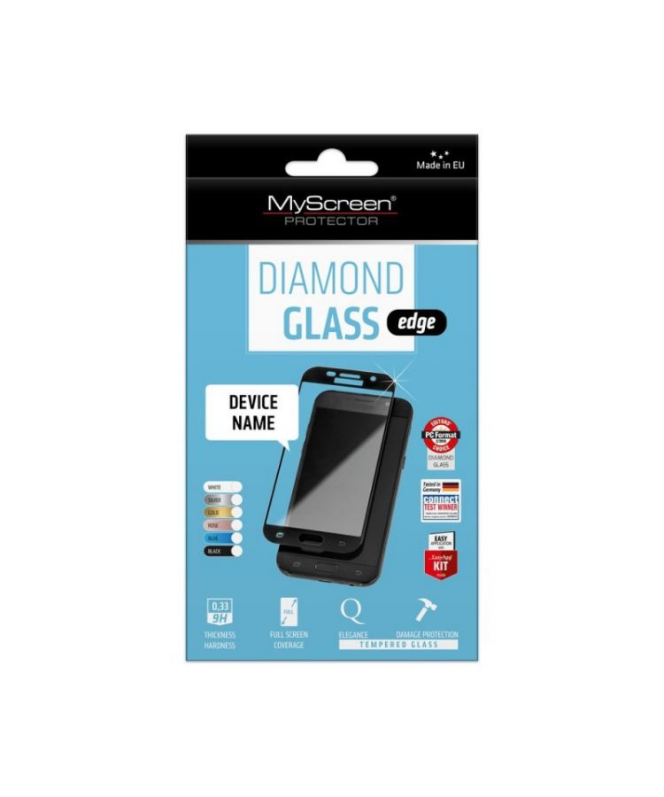 Folie MyScreen DiamondGlass Samsung S8Plus Negru