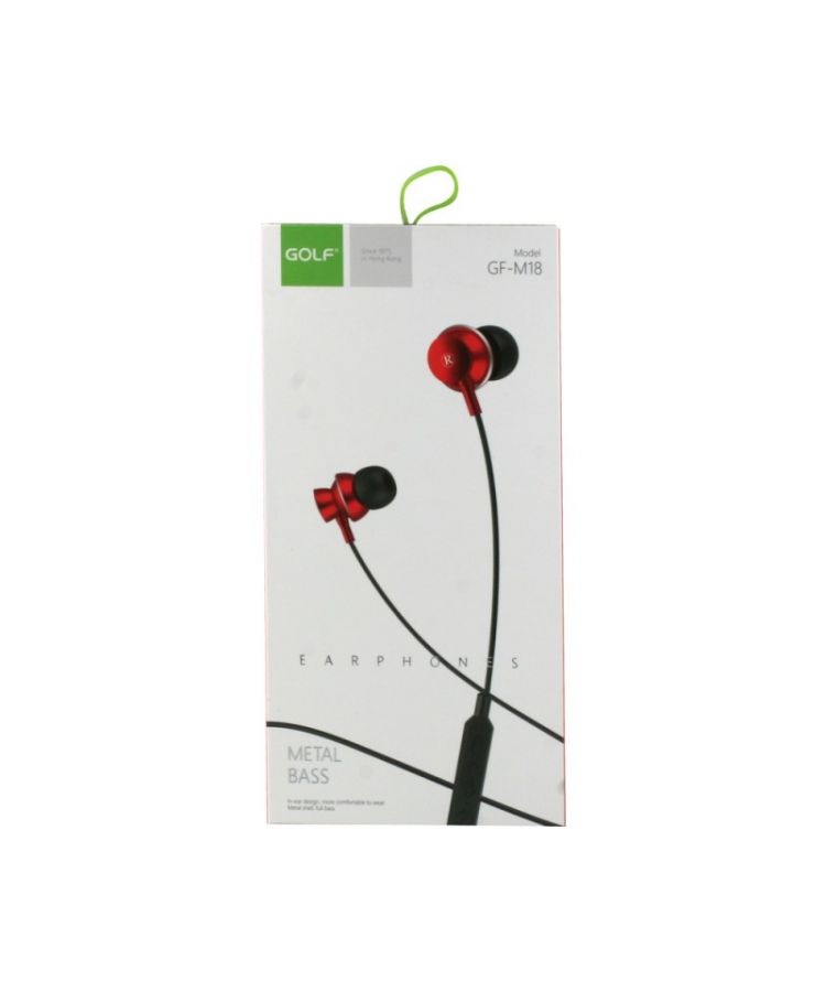 HandsFree Stereo Golf M18 Rosu: