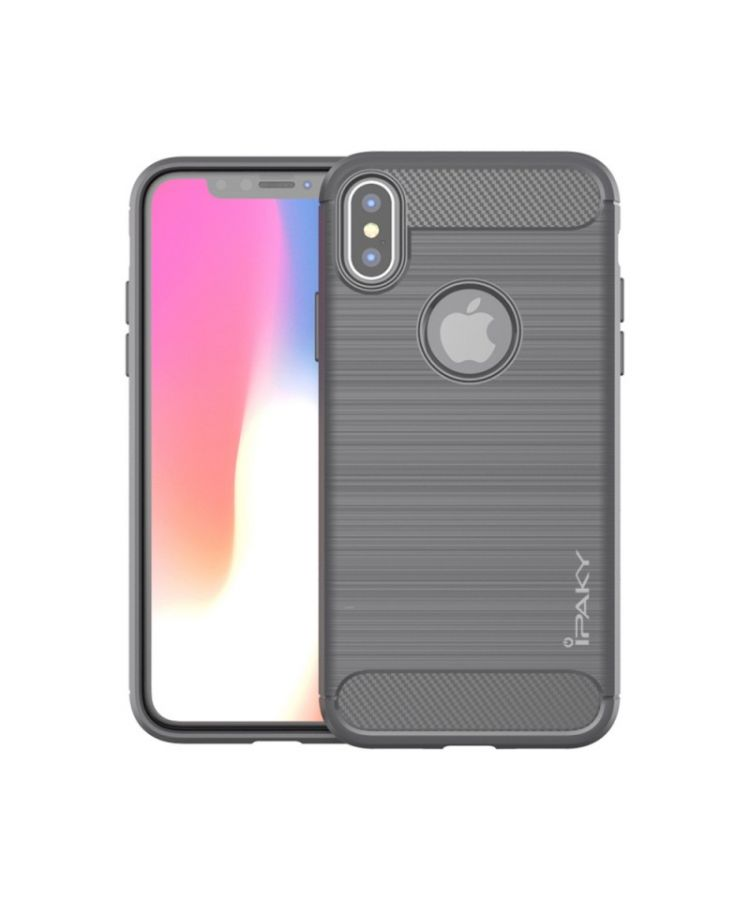 Husa Ipaky Concise Apple Iphone XR Gri: