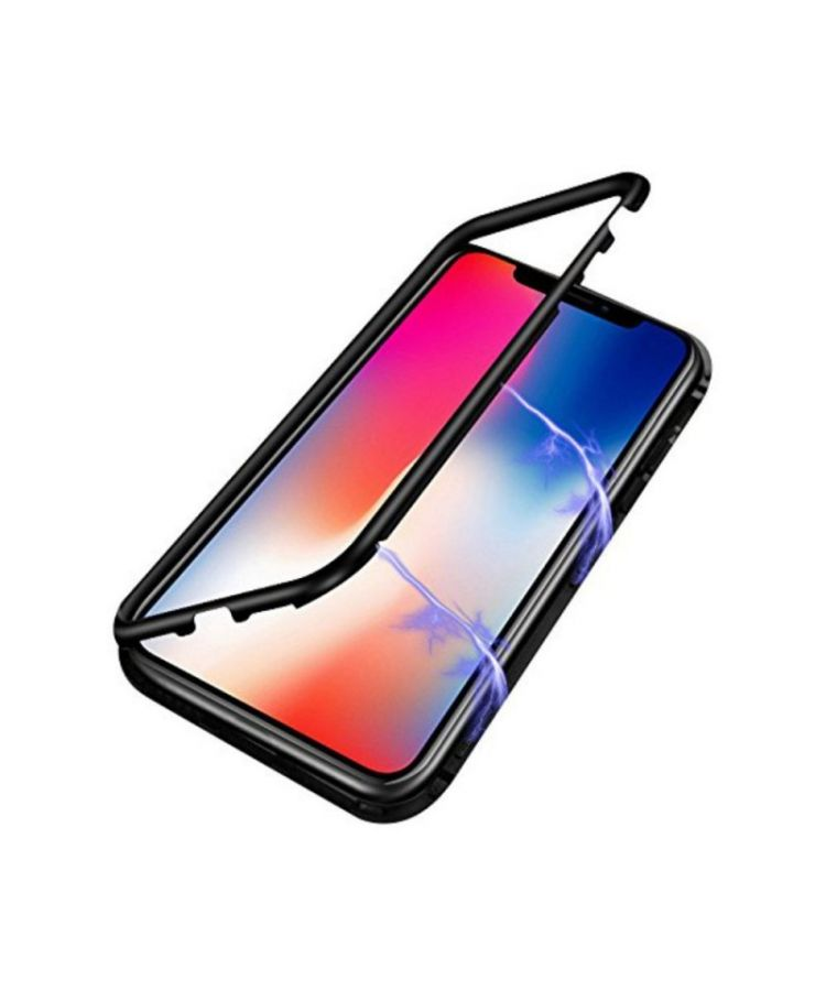 Husa Atlas Magneto Apple Iphone X/XS Negru:
