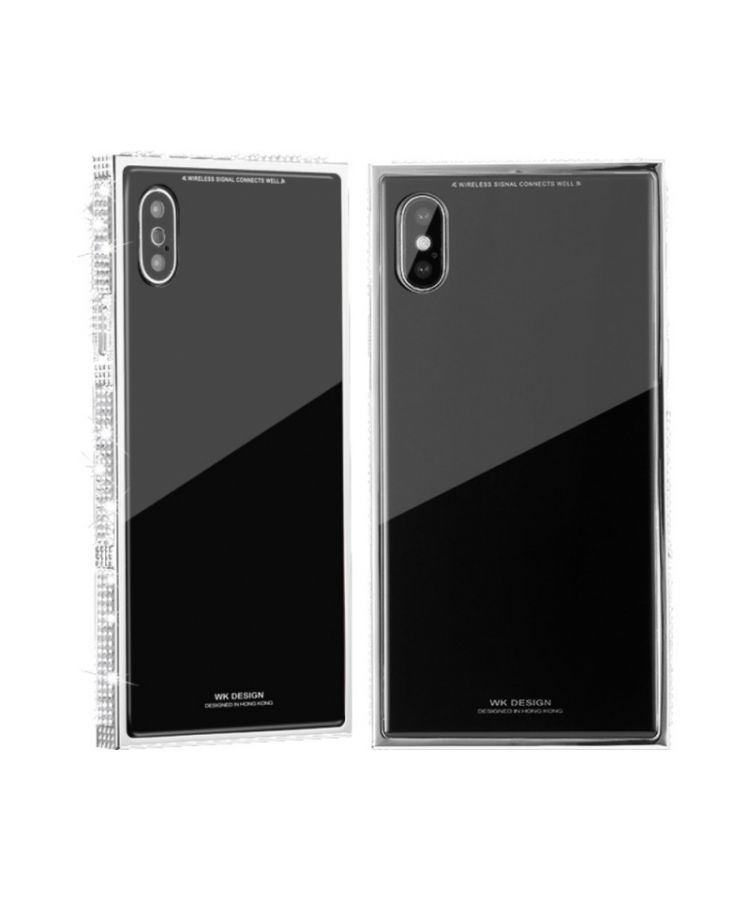 Husa Design Diamond Apple Iphone X/XS Negru