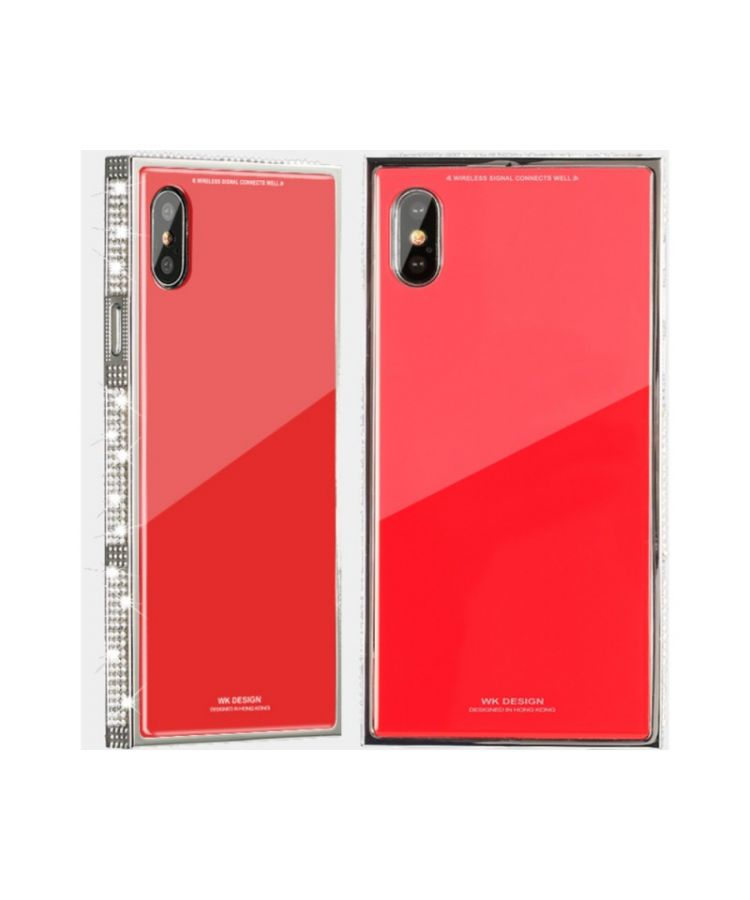 Husa Design Diamond Apple Iphone X/XS Rosu