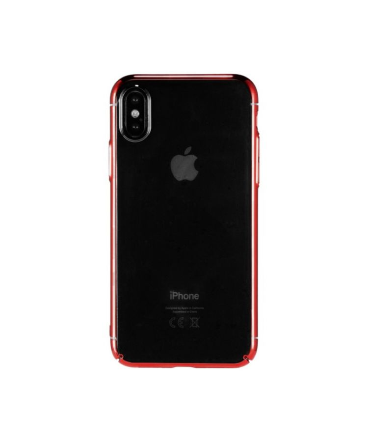 Husa Design Linclear Apple Iphone X/XS Rosu: