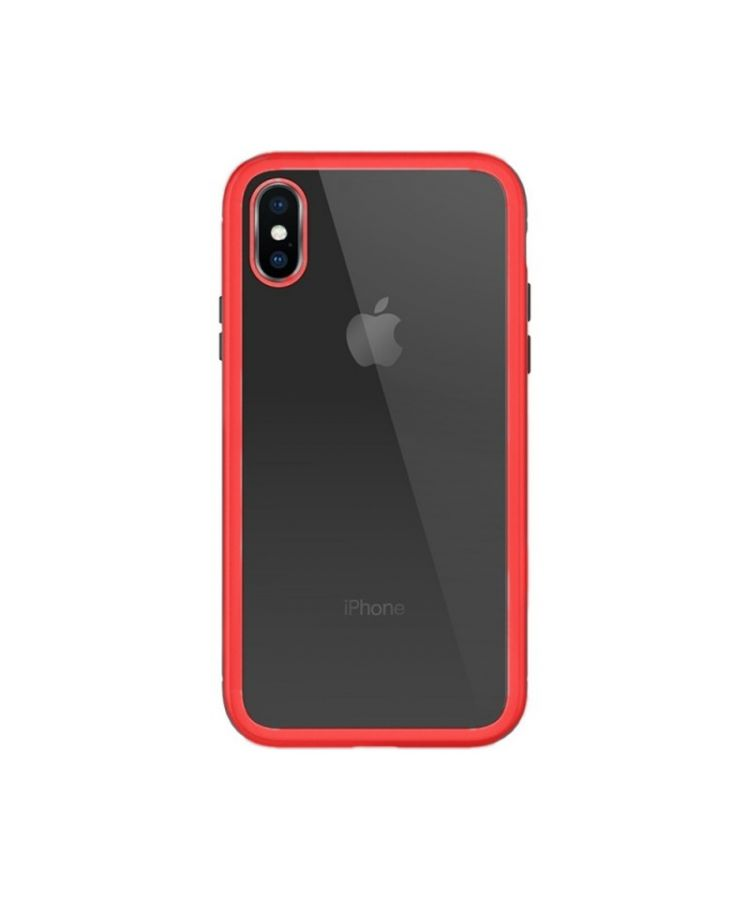 Husa Design Magnets Apple Iphone X/XS Rosu: