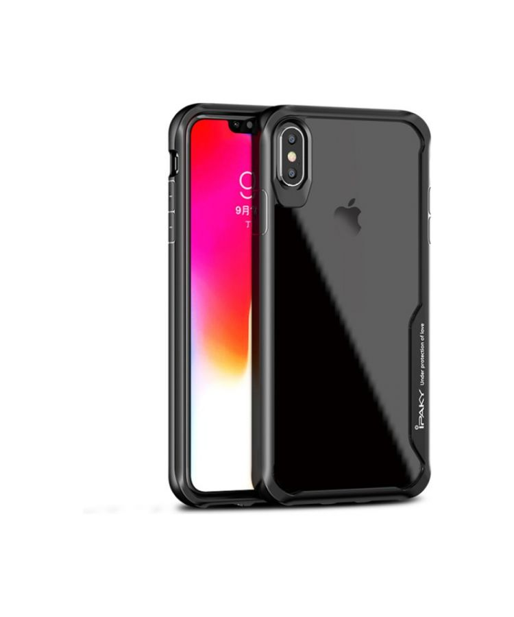 Husa Ipaky Survival Apple Iphone X/XS Negru: